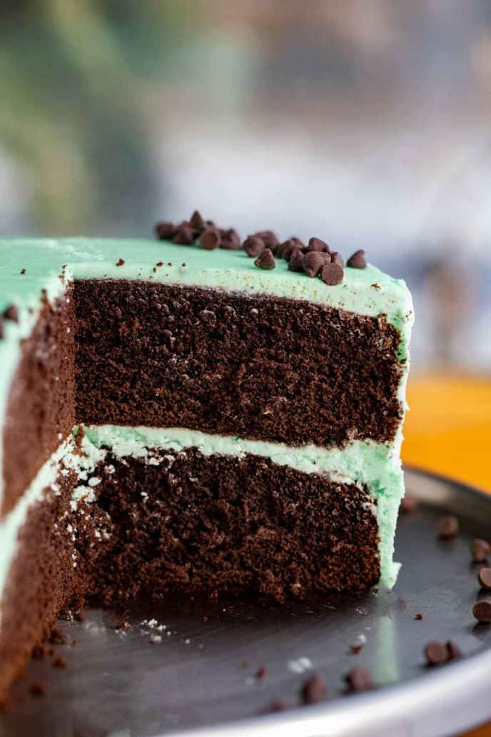 Easy Mint Frosting - Dinner, then Dessert
