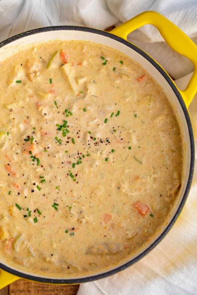 Pot of Mulligatawny Soup