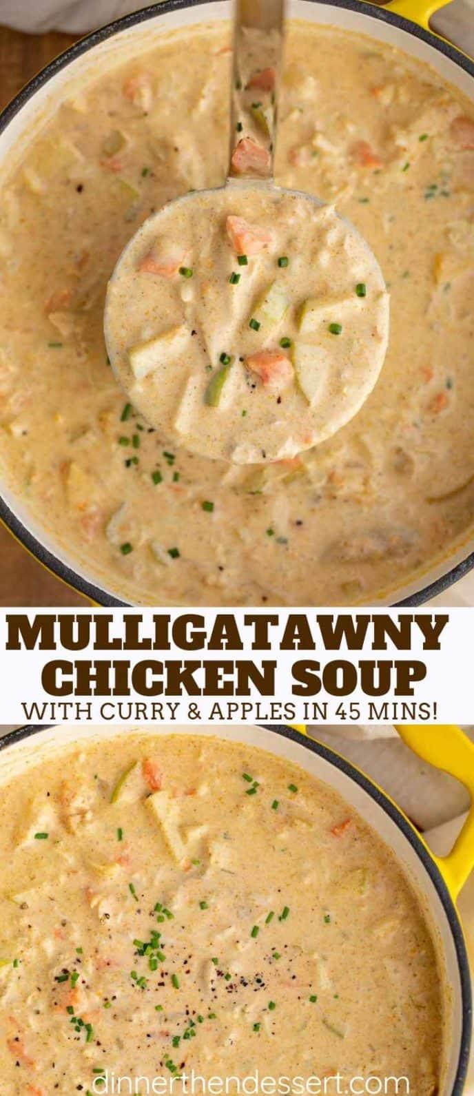Easy Chicken Mulligatawny Soup