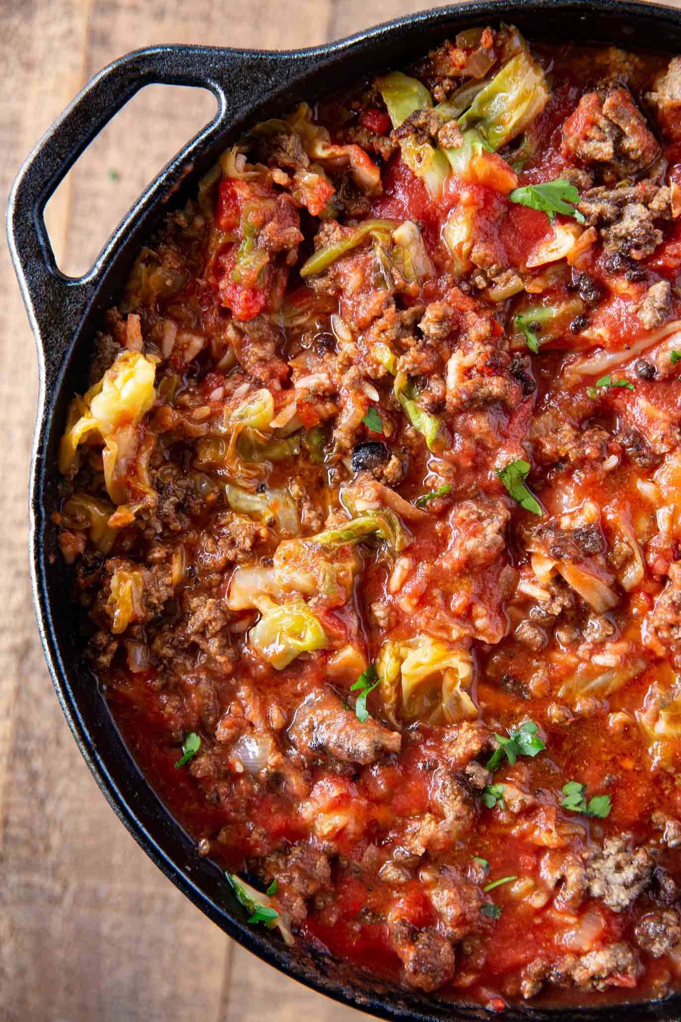 Stuffed Cabbage Rolls Soup