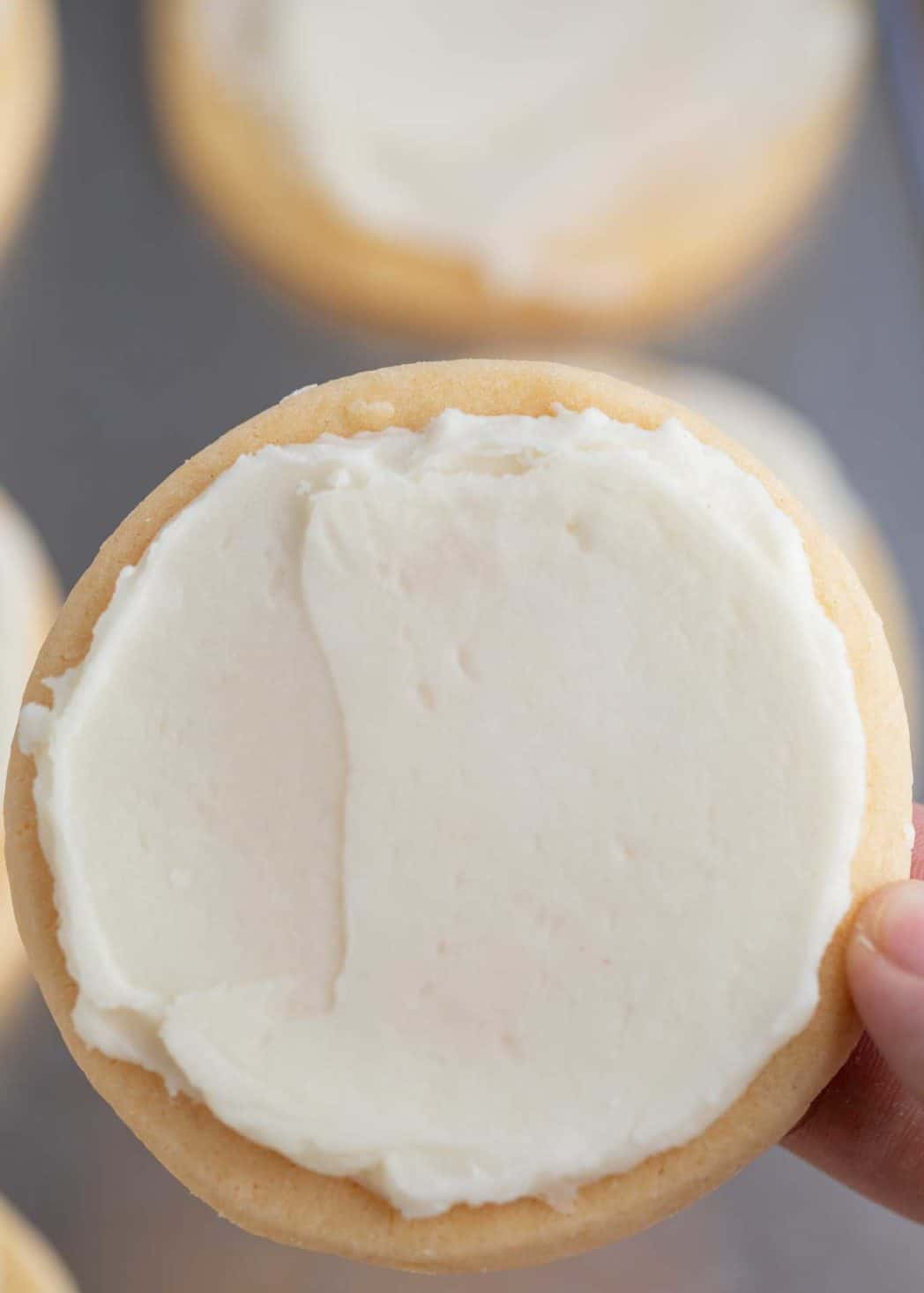 Easy Vanilla Sugar Cookie Frosting