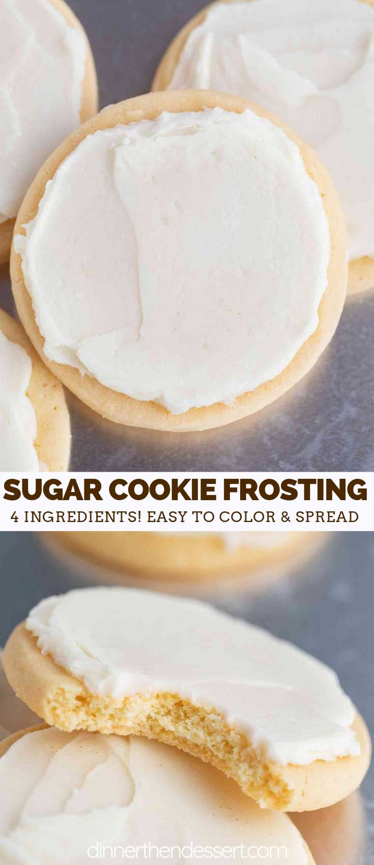 Christmas Cookie Recipes 2019.Sugar Cookie Frosting Dinner Then Dessert
