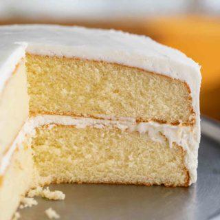 Vanilla Cake with Buttercream