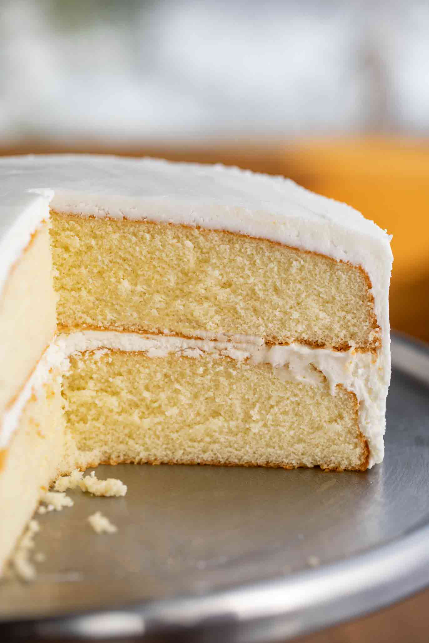 Easy Vanilla Cake Dinner Then Dessert