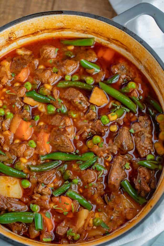 Vegetable Beef Stew
