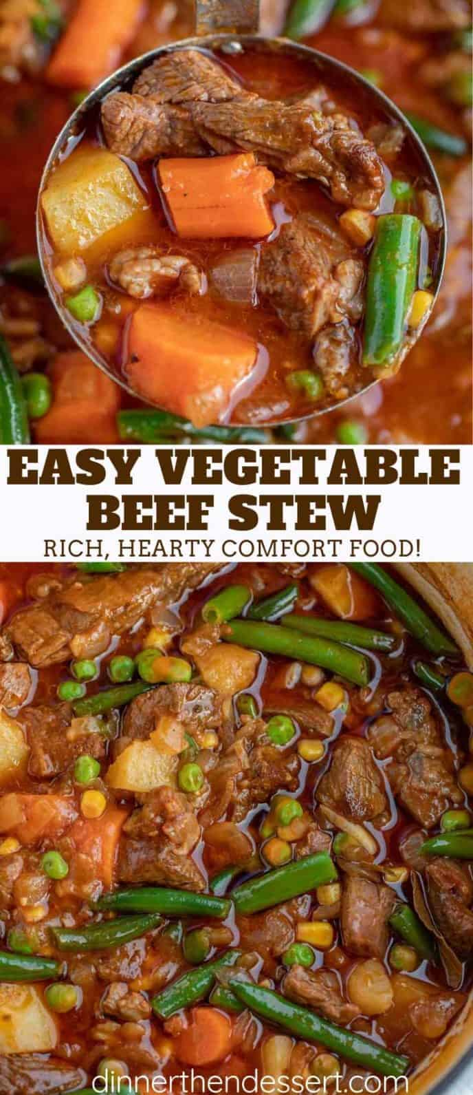 Rich Vegetable and Beef Stew
