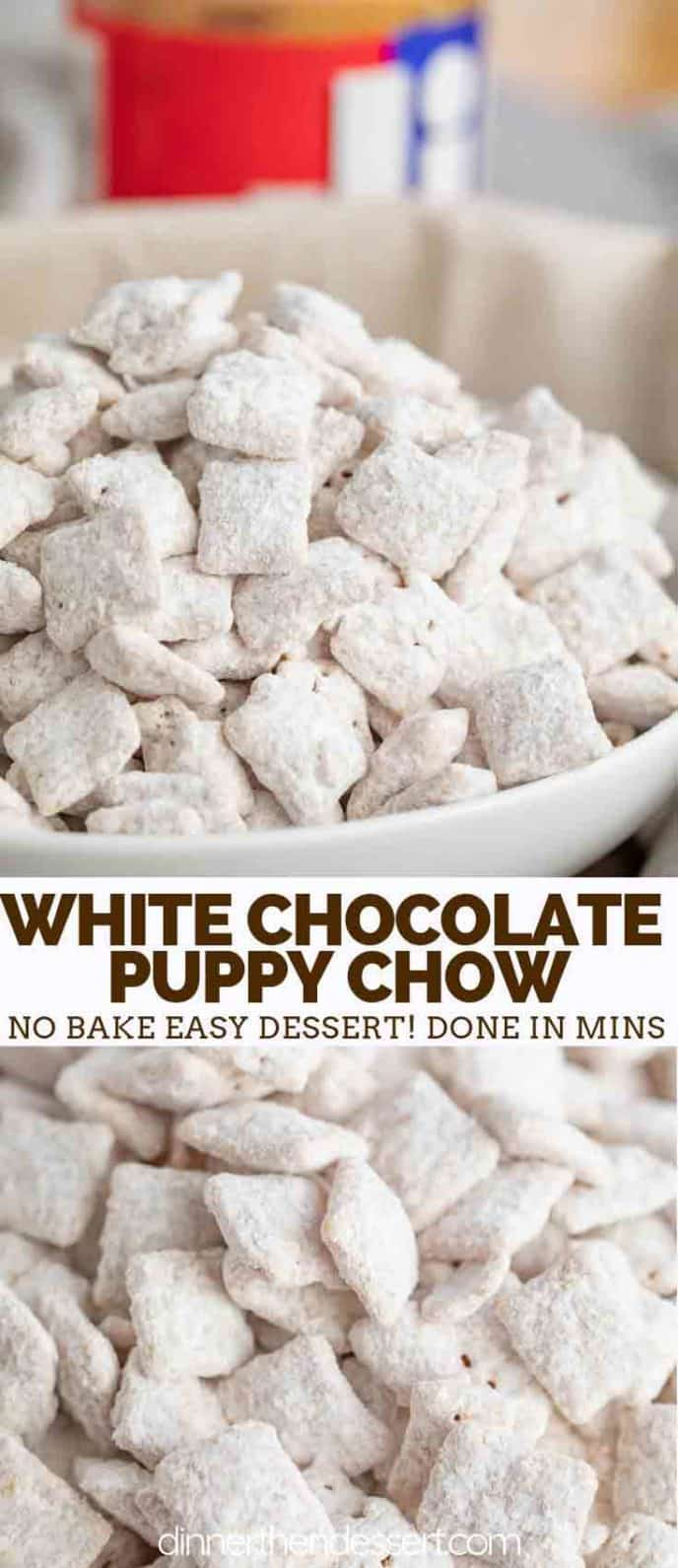 White Chocolate Peanut Butter Muddy Buddies
