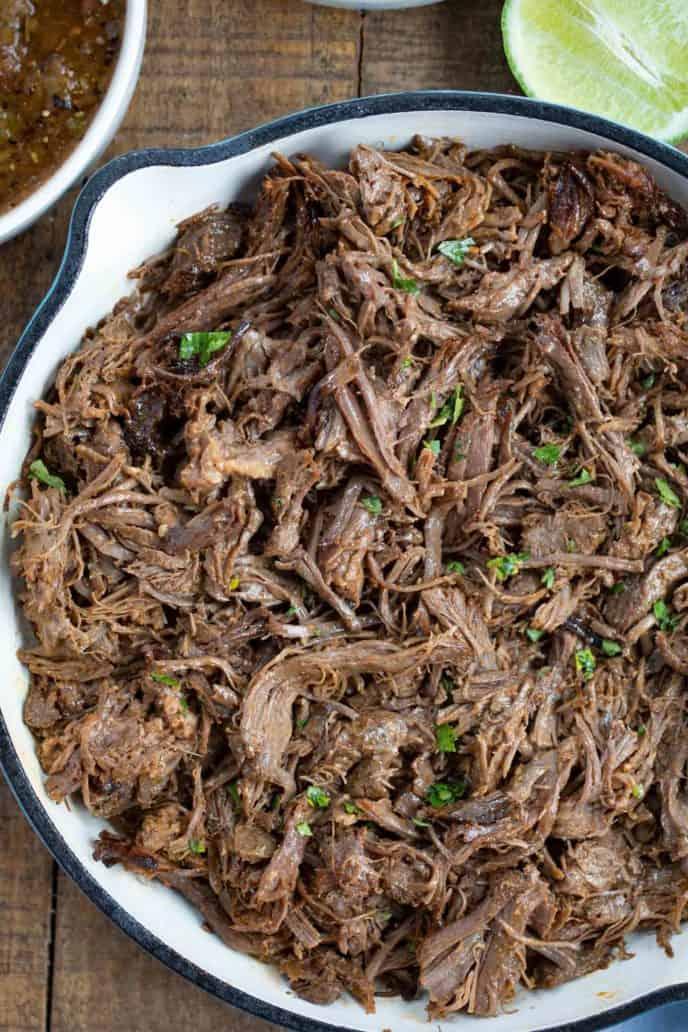 beef barbacoa recipe (chipotle copycat)