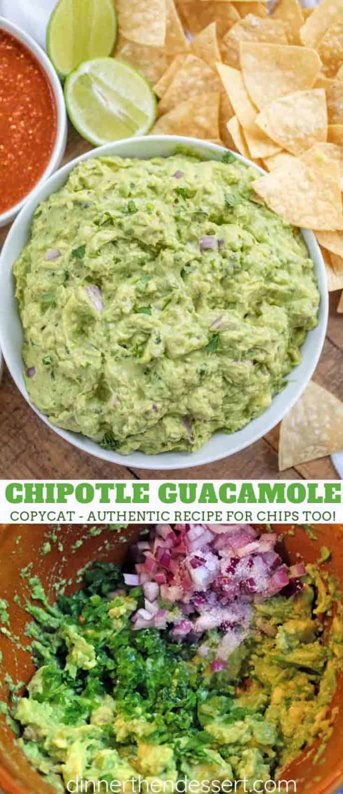 Chipotle Restaurant Guacamole Recipe