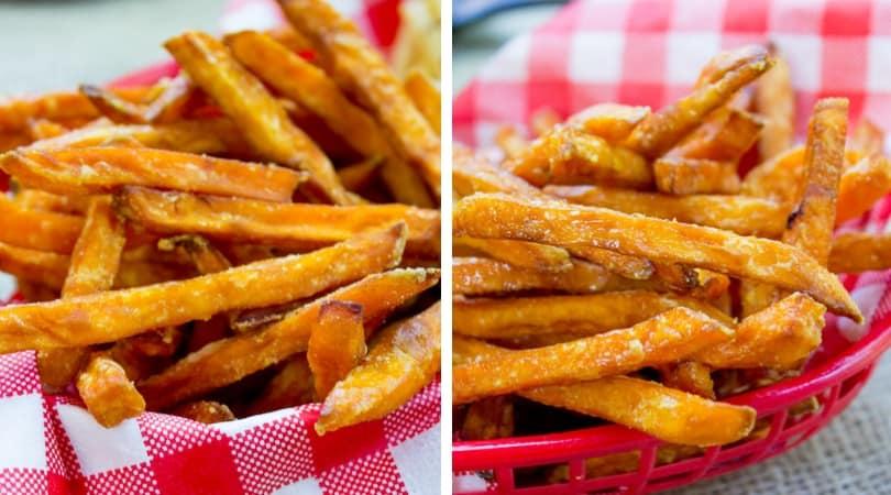 How to cook sweet potato fries in deep fryer