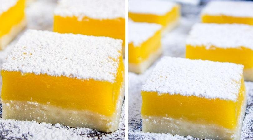 Easy Lemon Bars Lemon Squares Dinner Then Dessert