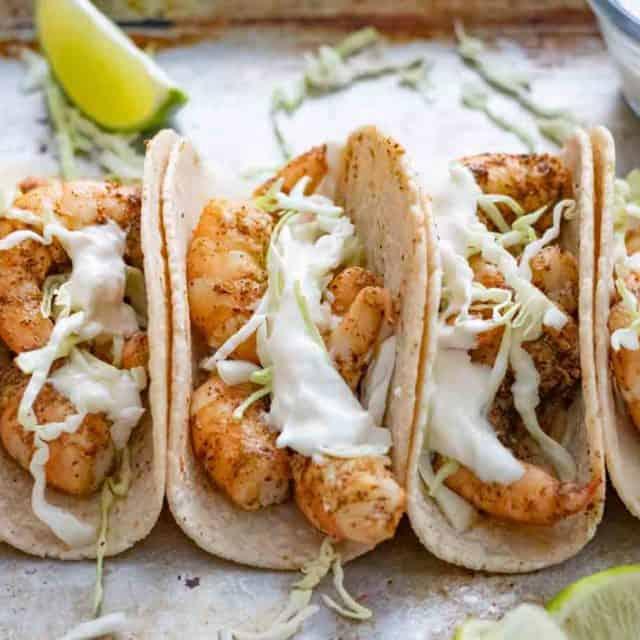 Easy Shrimp Tacos