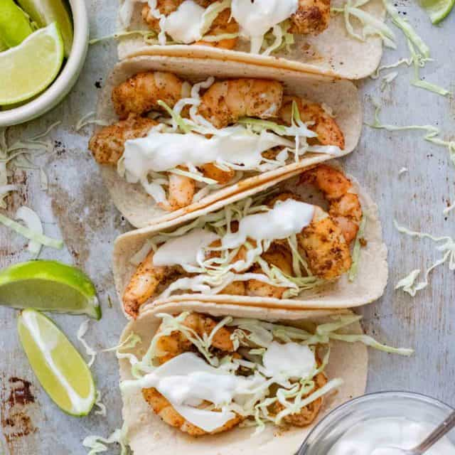 Quick and Healthy Shrimp Tacos