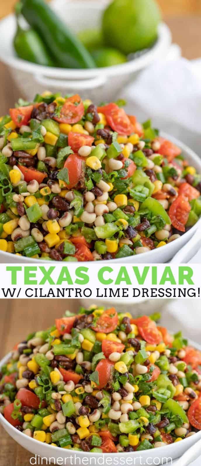 Easy Texas Caviar Dip