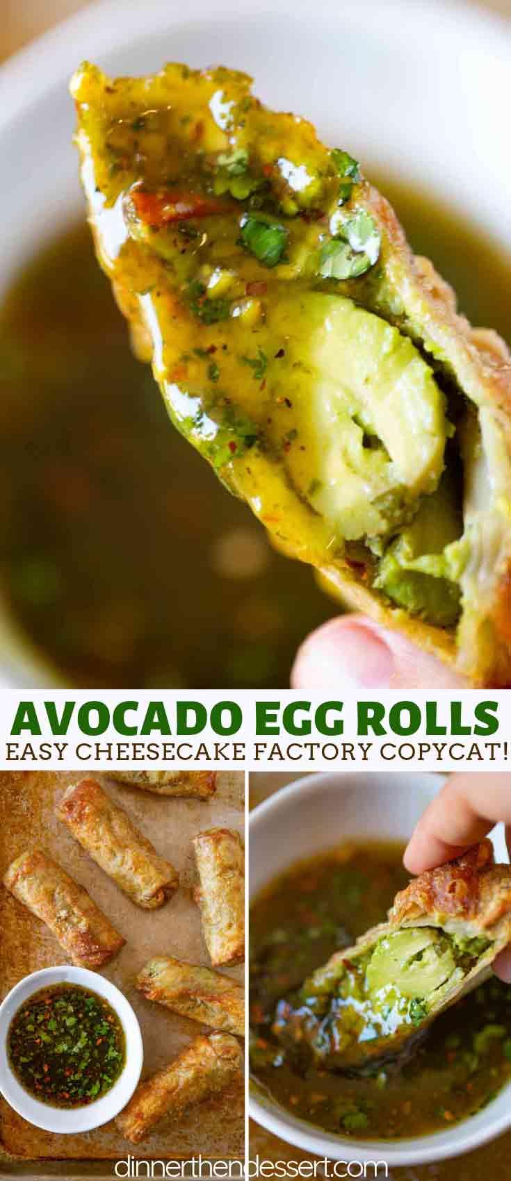 Avocado Egg Roll Recipe