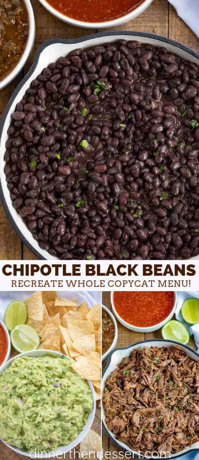 Chipotle Black Beans Recipe