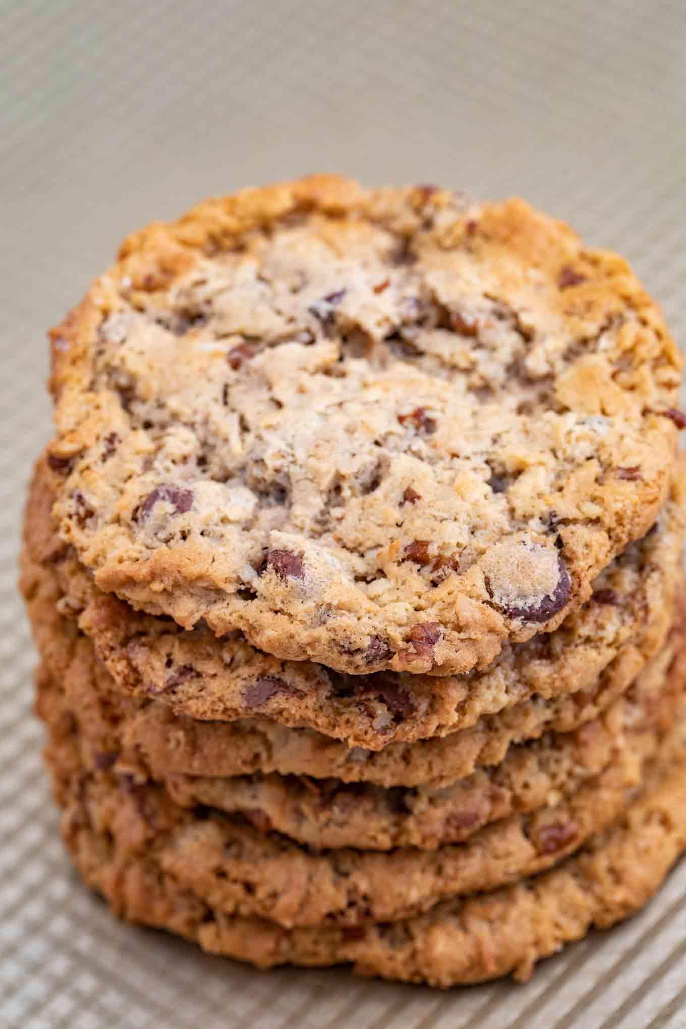 Stack of Cowboy Cookies