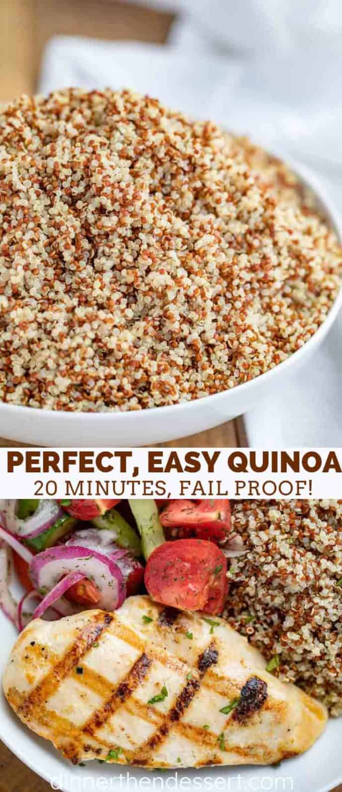 Quinoa Collage Photos