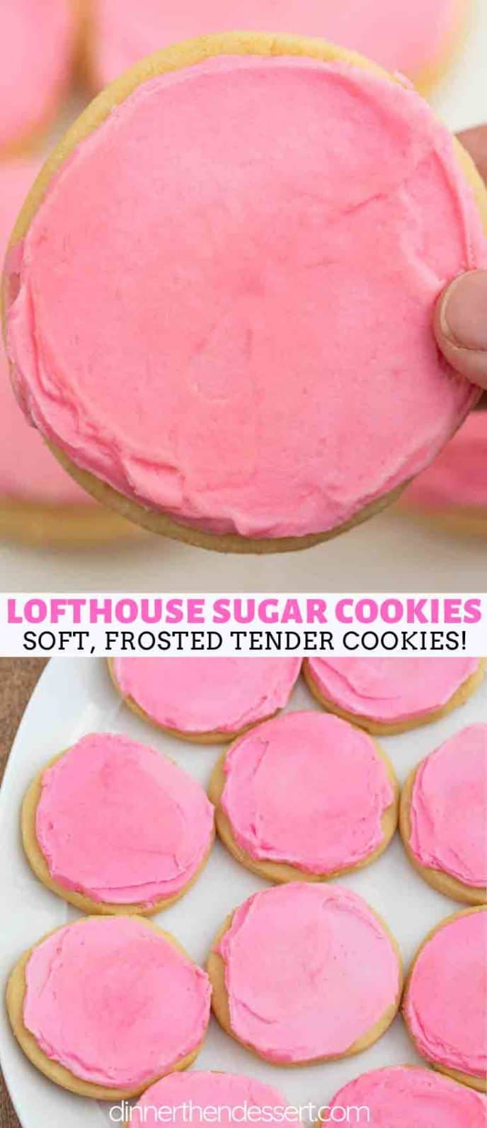 Grocery Store Copycat Lofthouse Sugar Cookies
