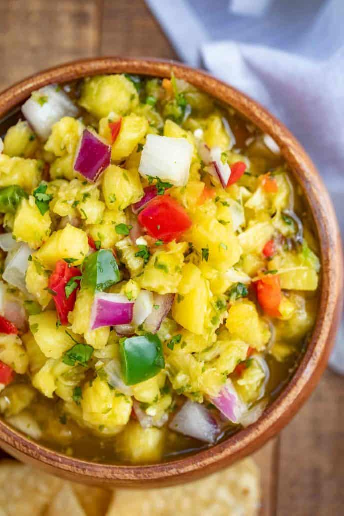 Easy Tropical Pineapple Salsa