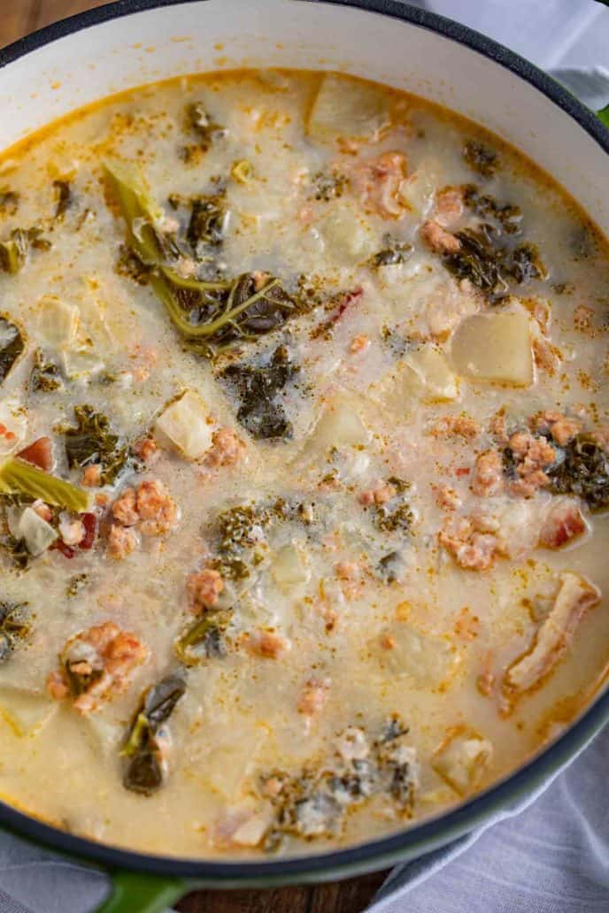 Sausage and Kale Zuppa Toscana Soup