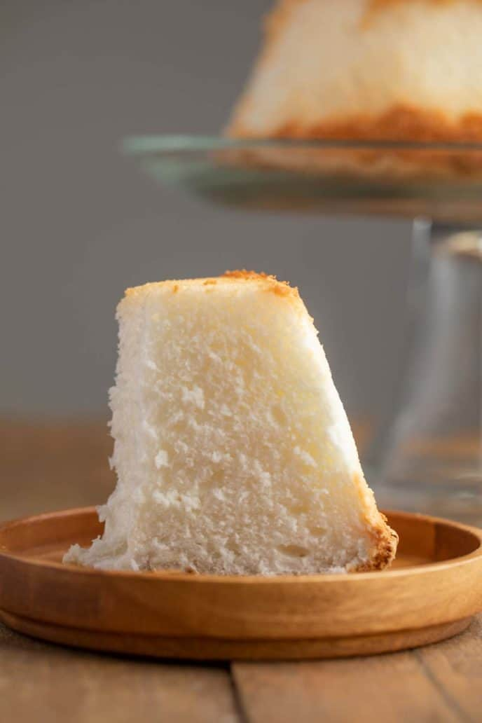 Slice of Angel Food Cake