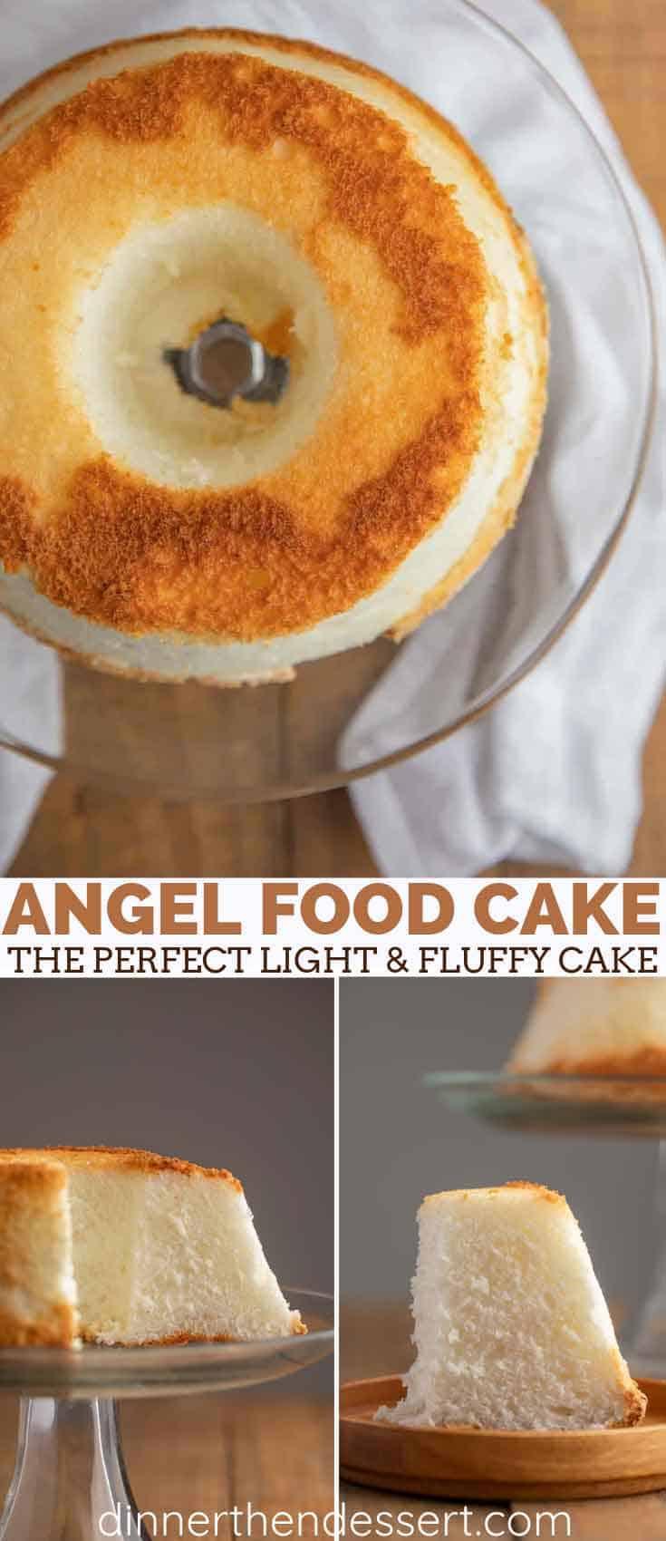 Perfectly Light Angel Food Cake Fail Proof Dinner Then Dessert