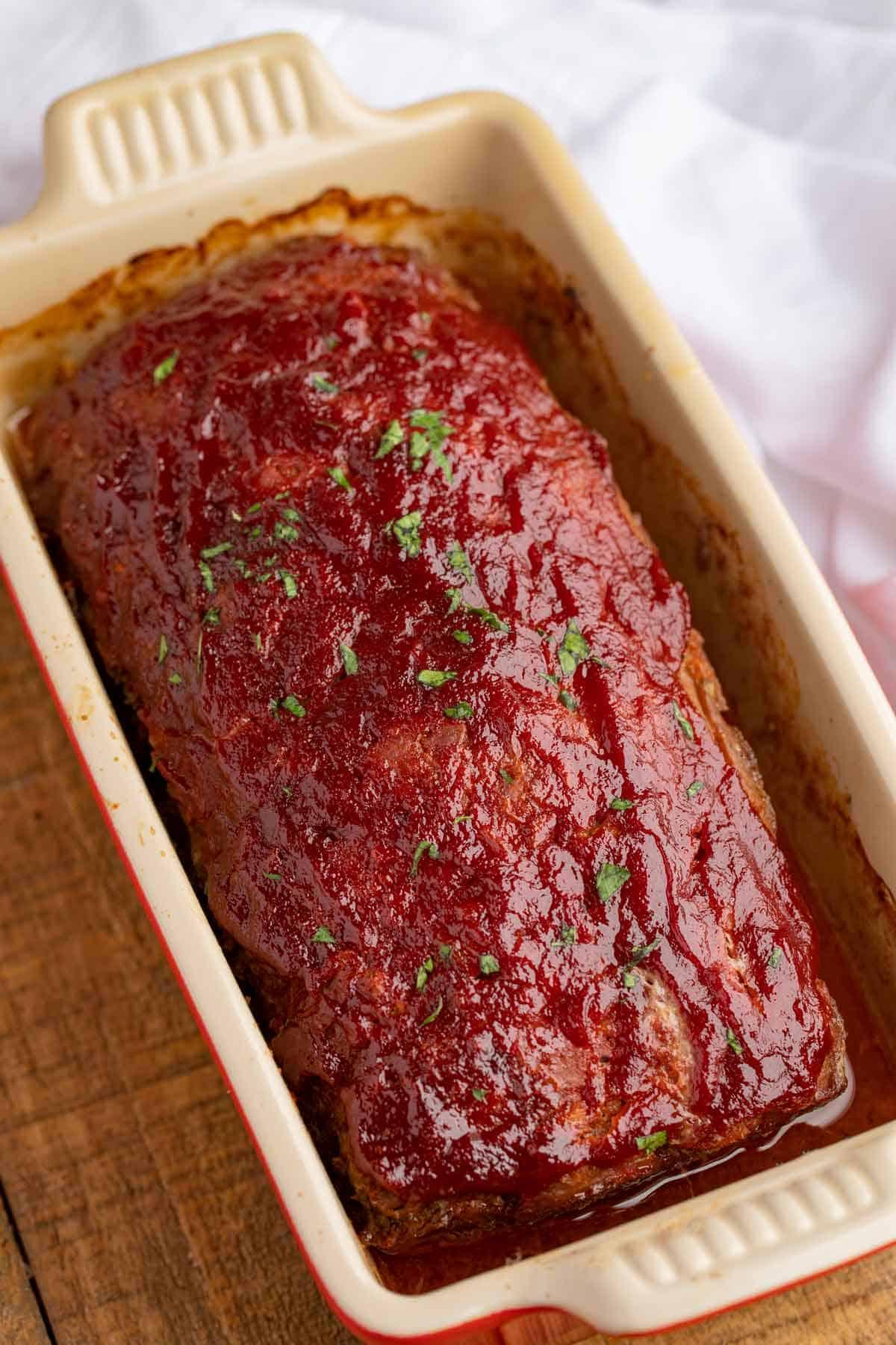 Meatloaf Recipe in Loaf Pan