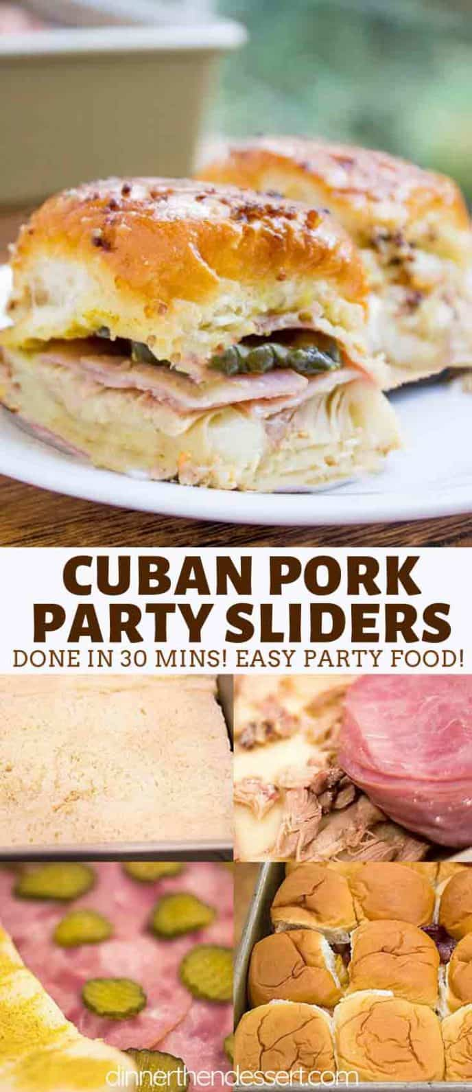 Cuban Pork Party Sliders