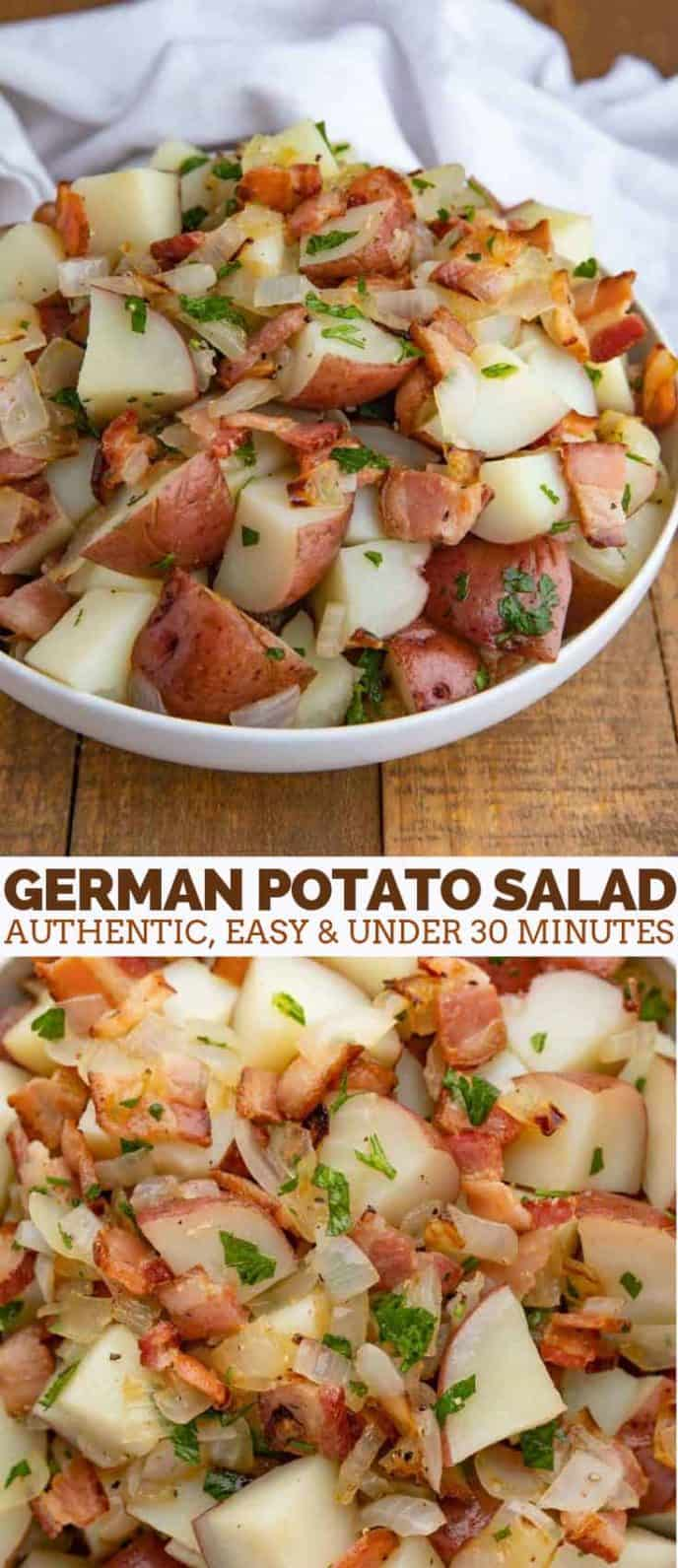 German Bacon Potato Salad