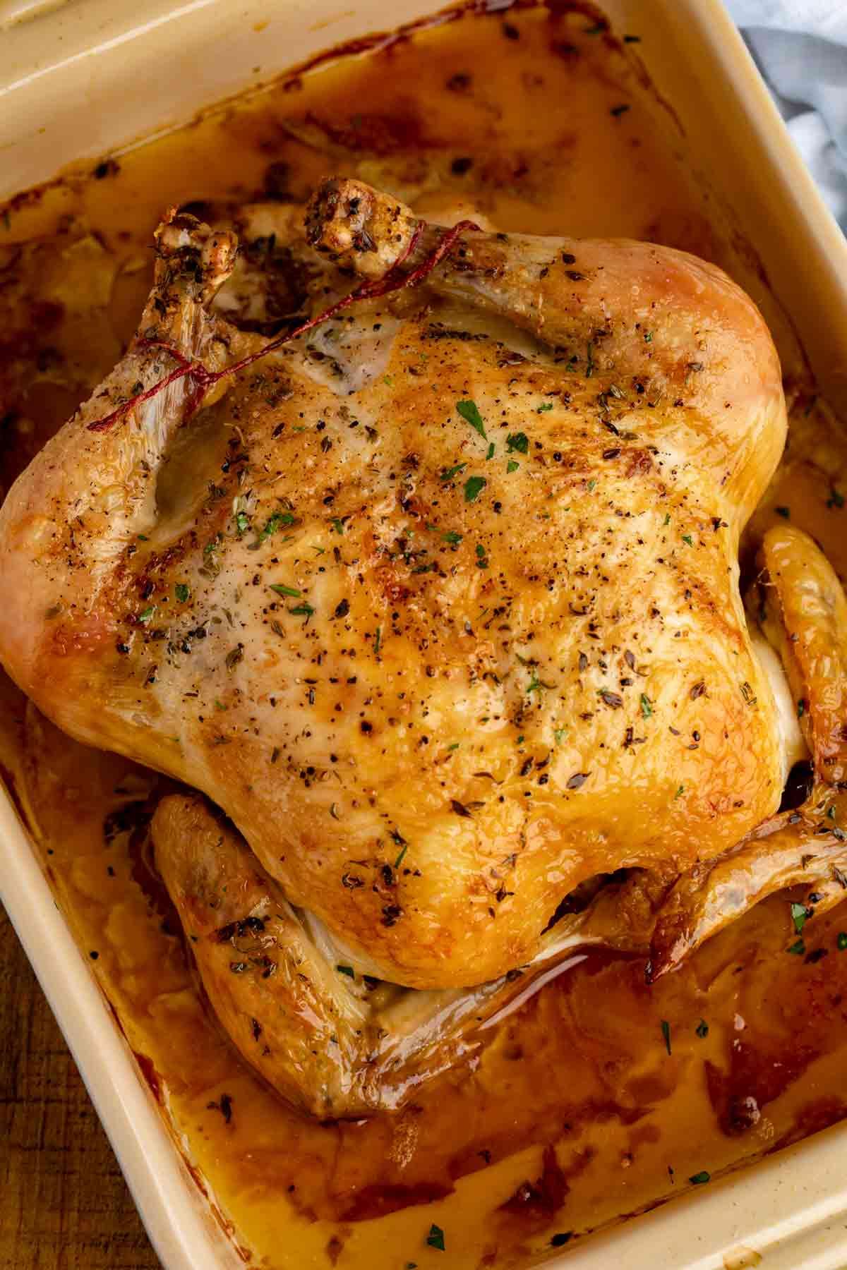 Perfect Simple Roast Chicken Crispiest Skin Juciest Meat In Just 1 Hour