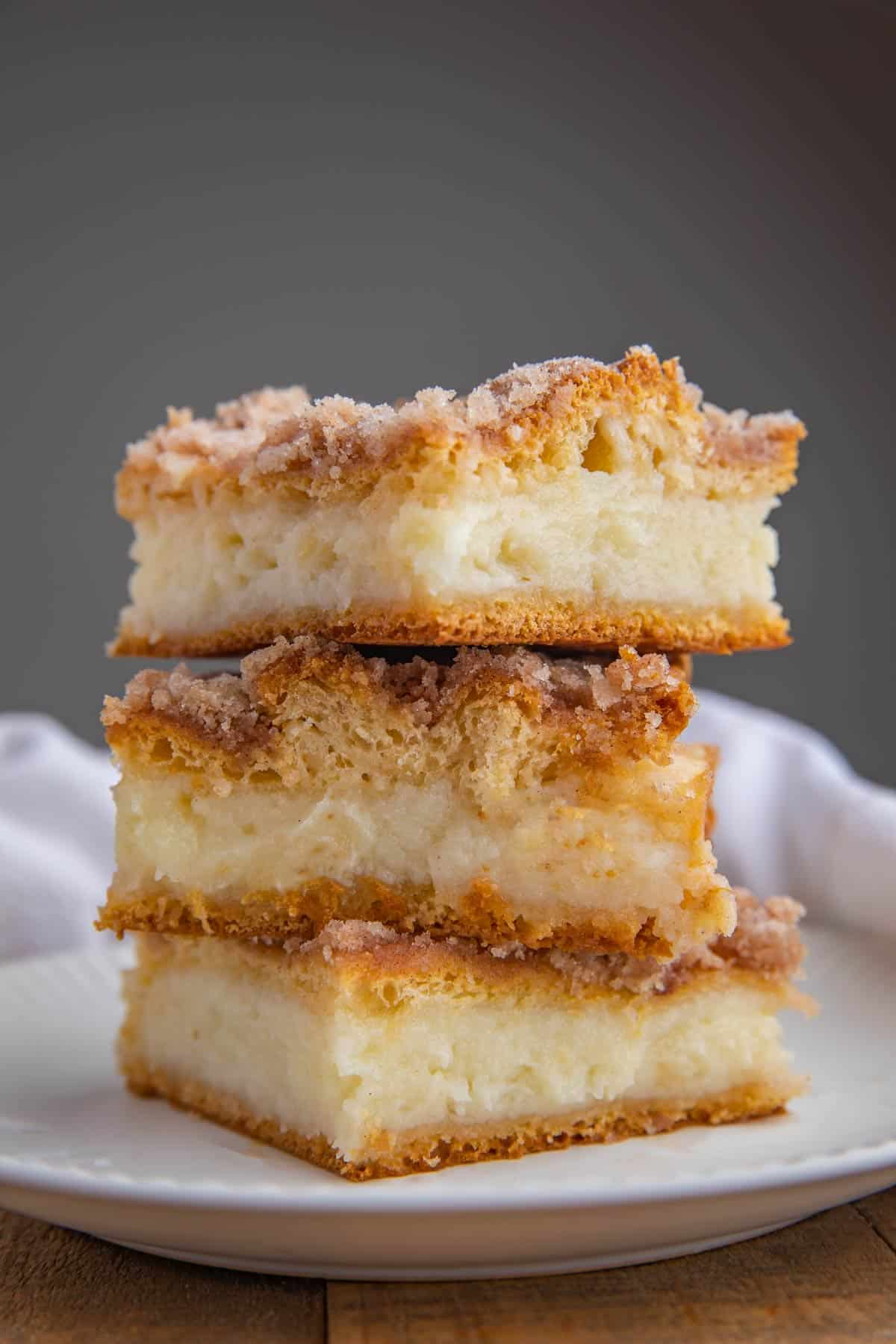 Sopapilla Cheesecake Bars - Dinner
