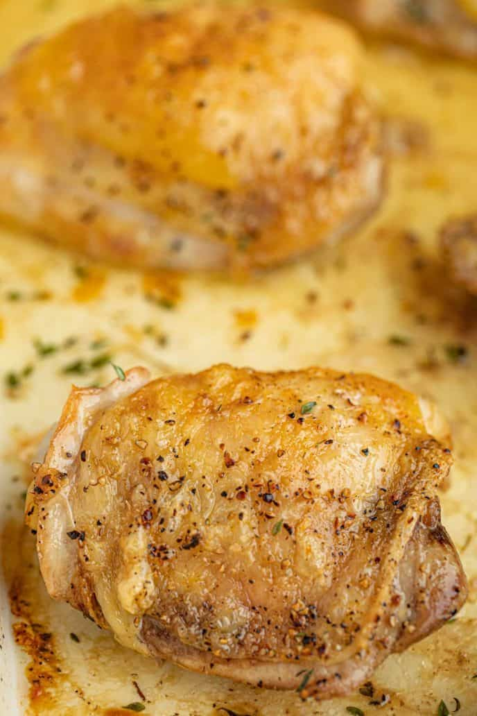 Baked Chicken Thigh