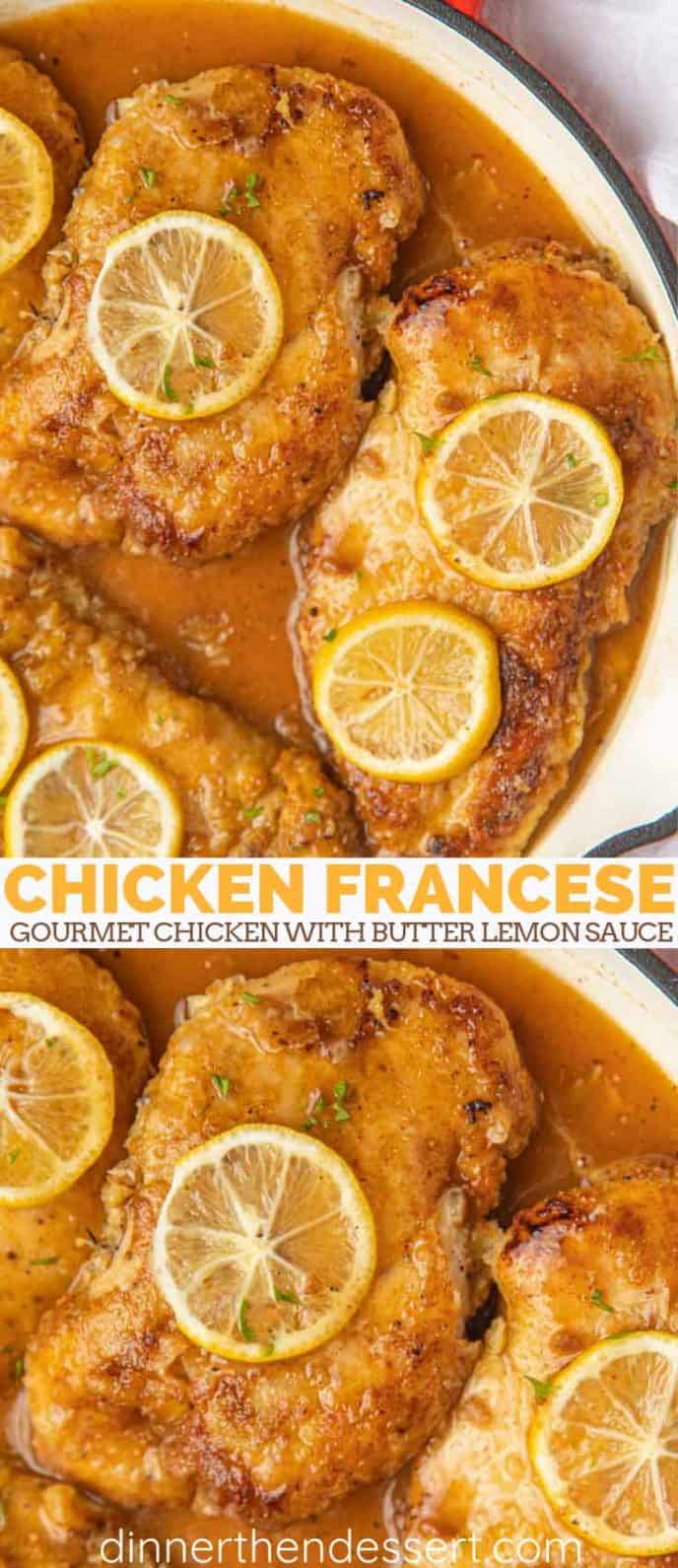 Chicken Francese in pan