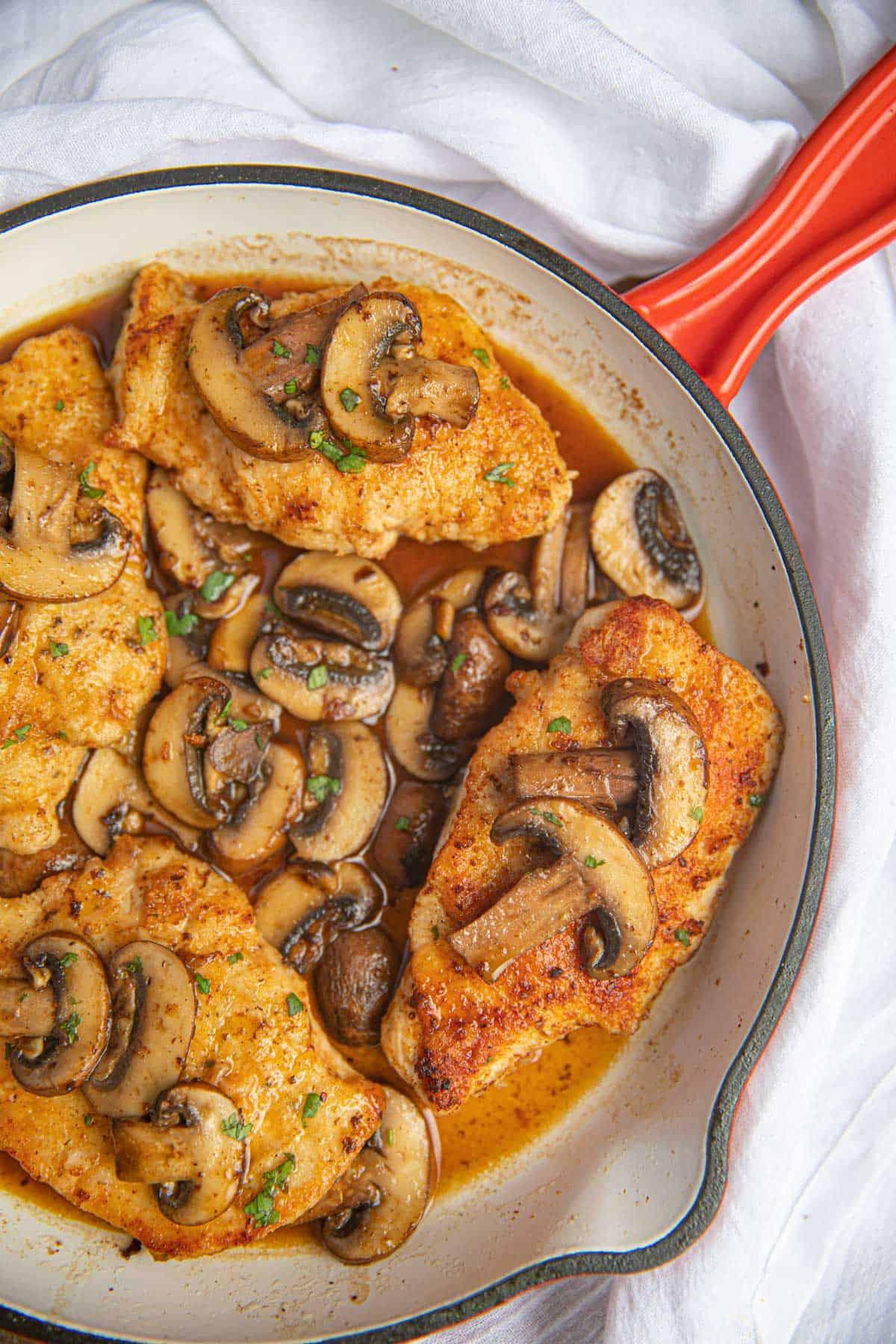 Best Chicken Marsala Restaurant Quality Amp Easy Dinner Then Dessert