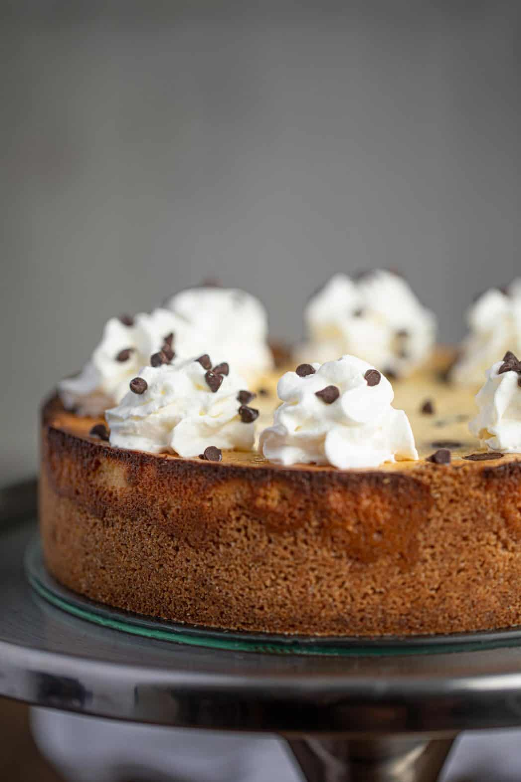 Whole Chocolate Chip Cheesecake
