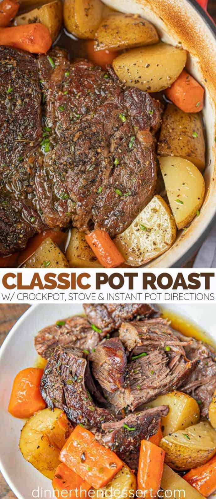 Classic Yankee Pot Roast