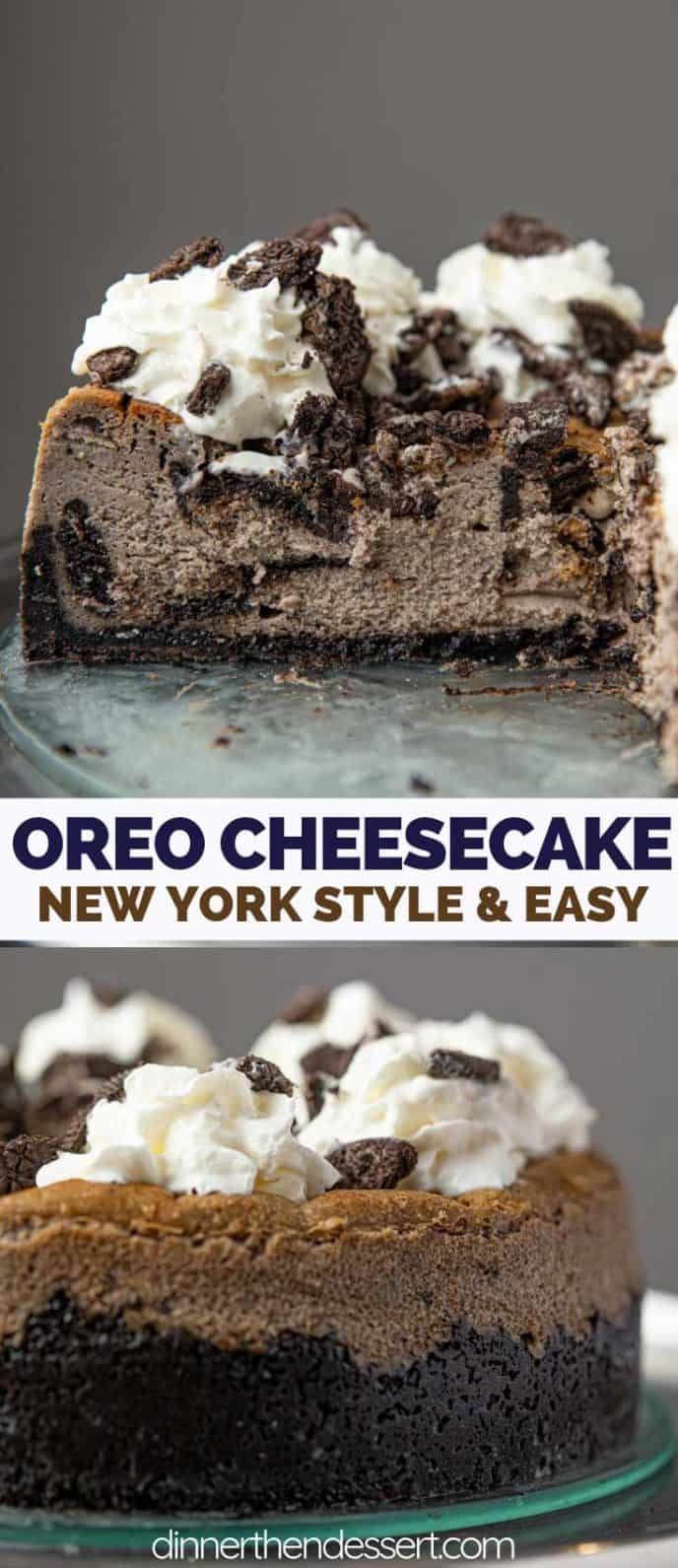 New York Style Oreo Cheesecake