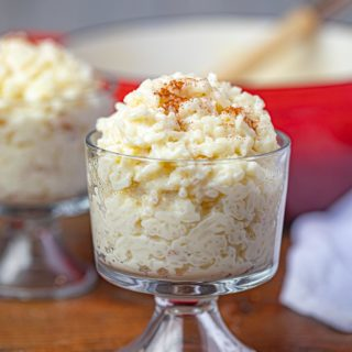 Rice Pudding in Cup