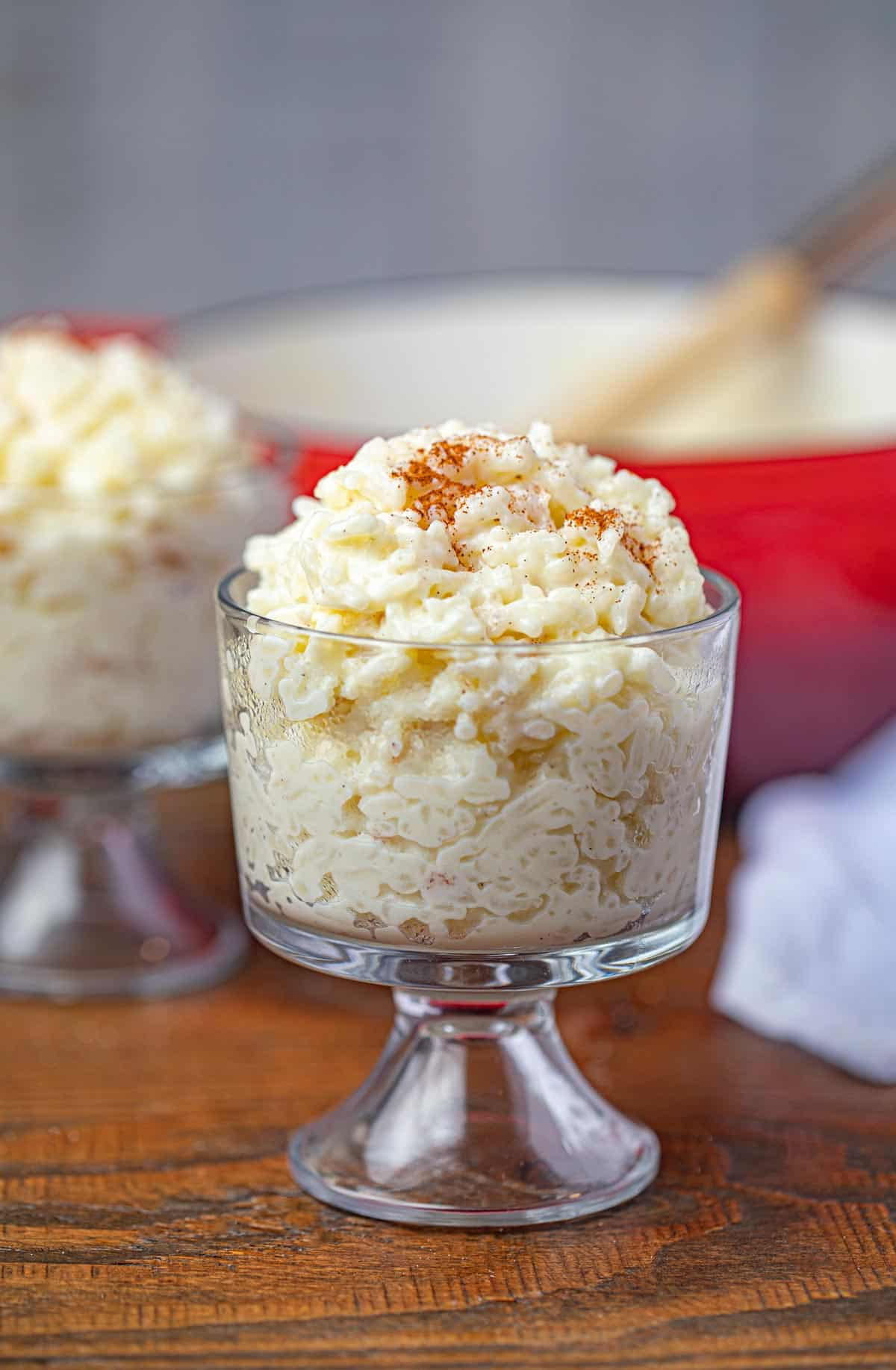 Rice Pudding - Dinner, then Dessert
