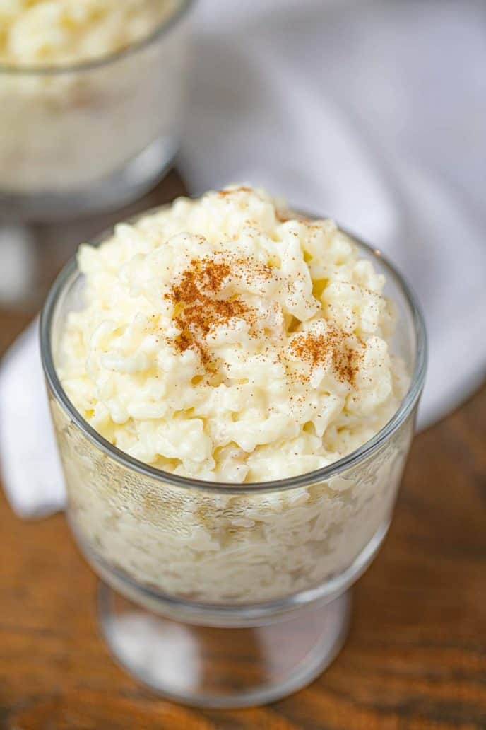 Rice Pudding Cup with Cinnamon