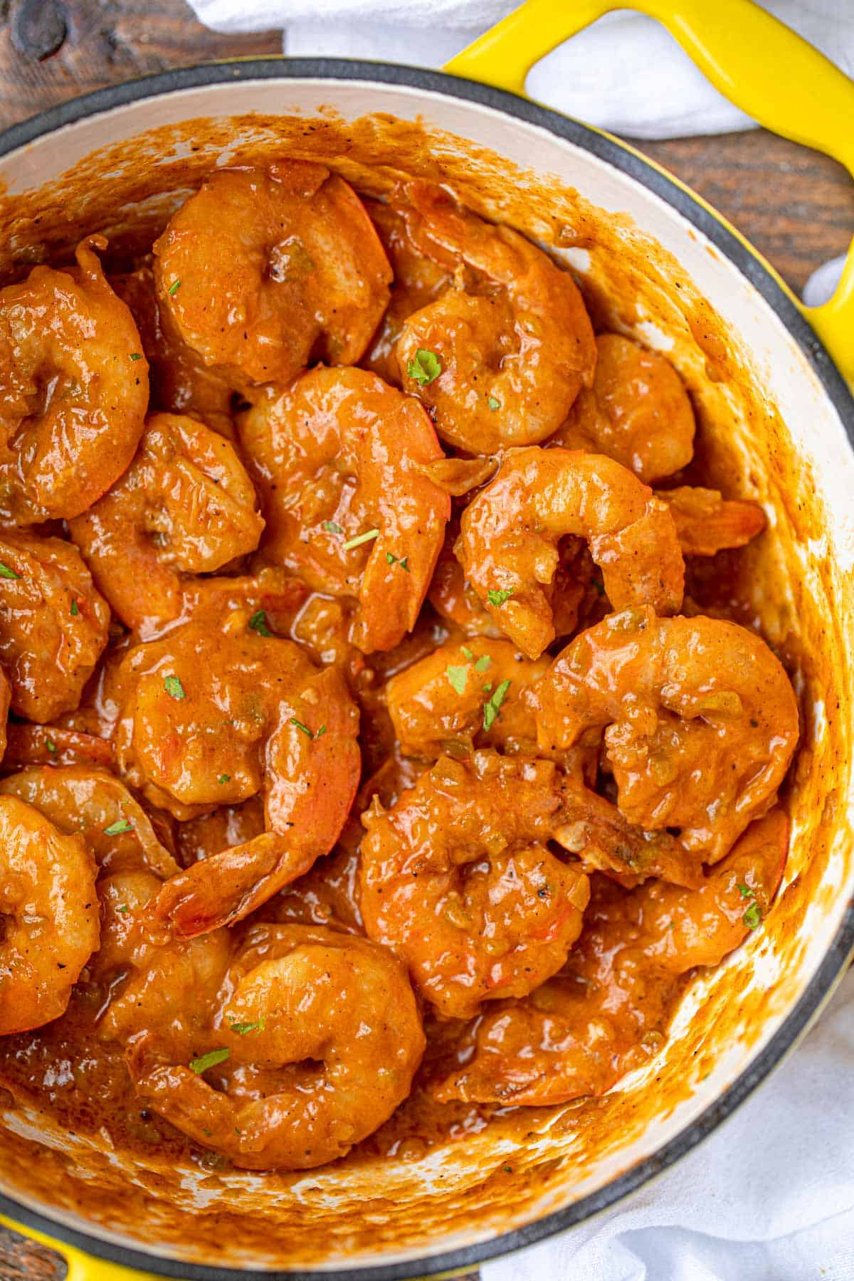 The Best Cajun Shrimp Etouffee In Just 30 Mins Dinner Then Dessert