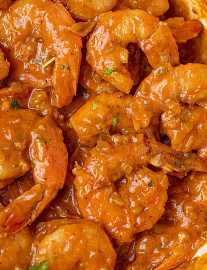 Cajun Shrimp Etouffee in sauce