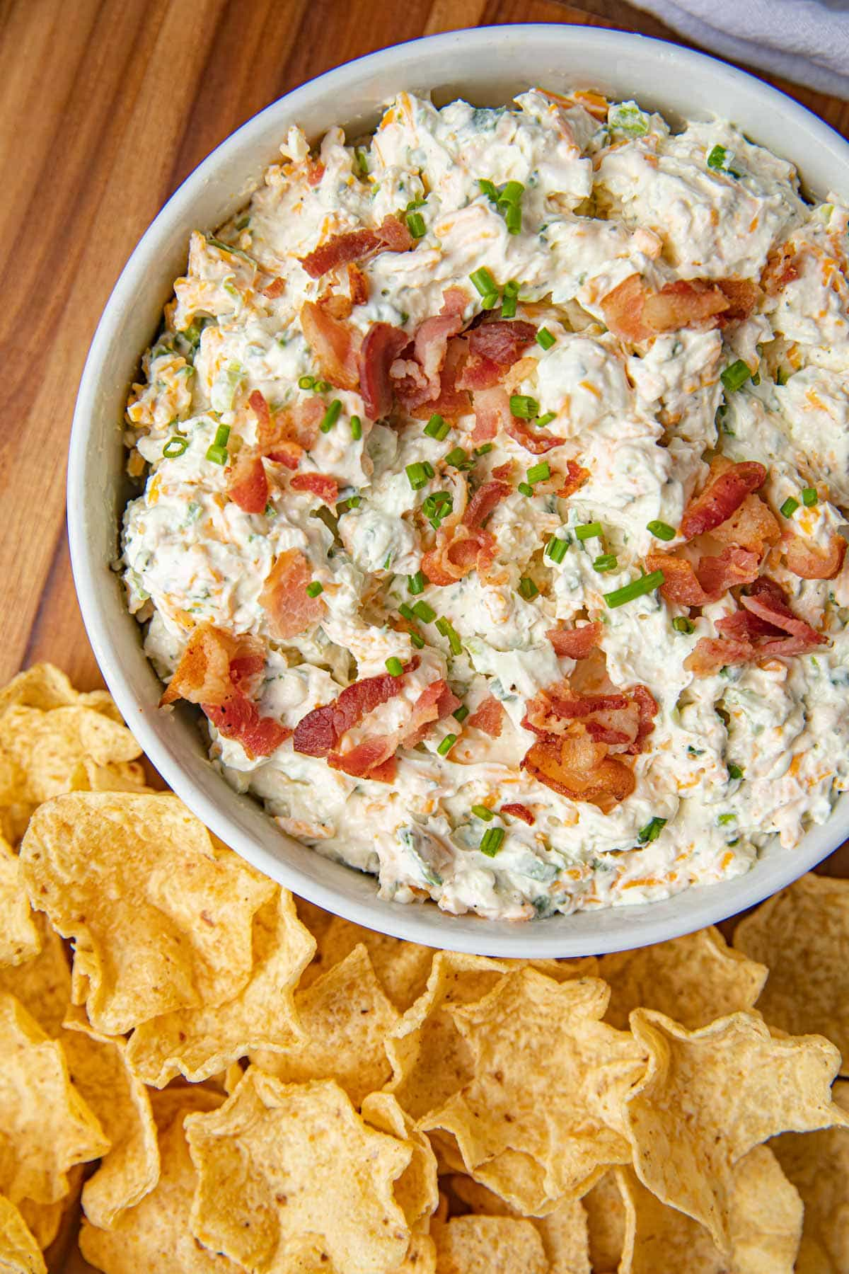 Bacon Cheddar Ranch Dip from above