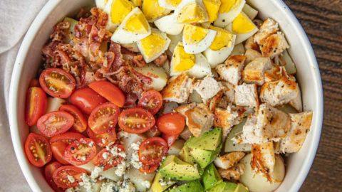 Cobb Potato Salad (with Chicken)
