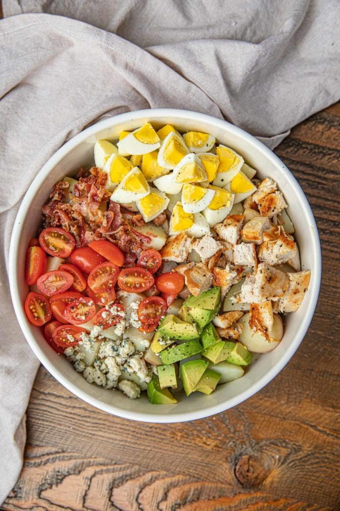 Cobb Potato Salad with Chicken