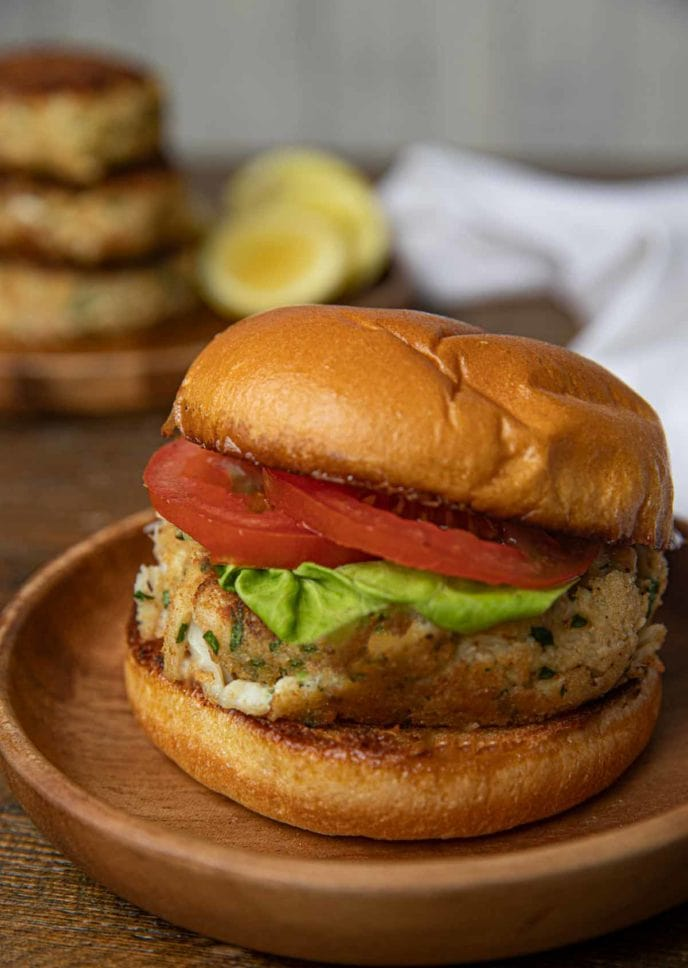 Crab Cake on a plate