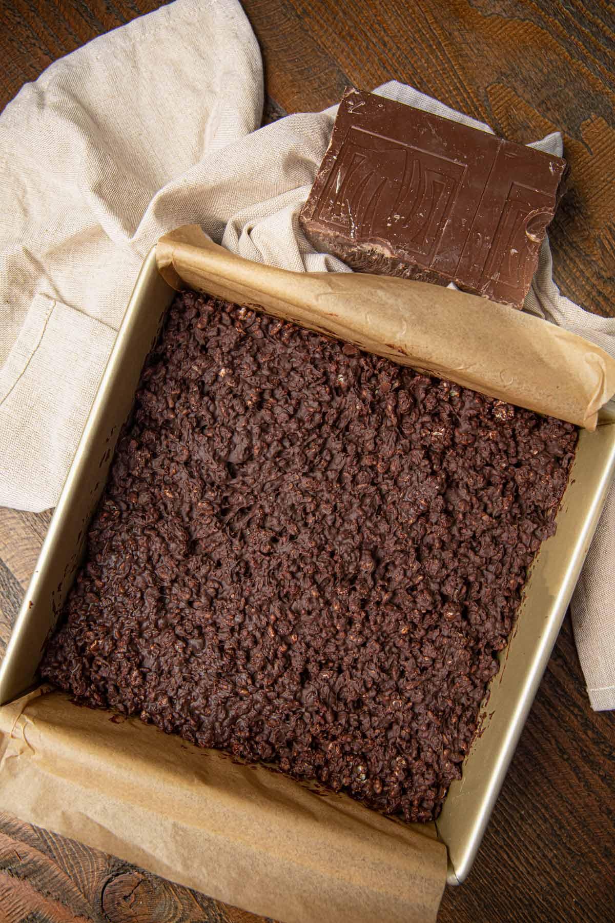 Pan of Crunch Bars