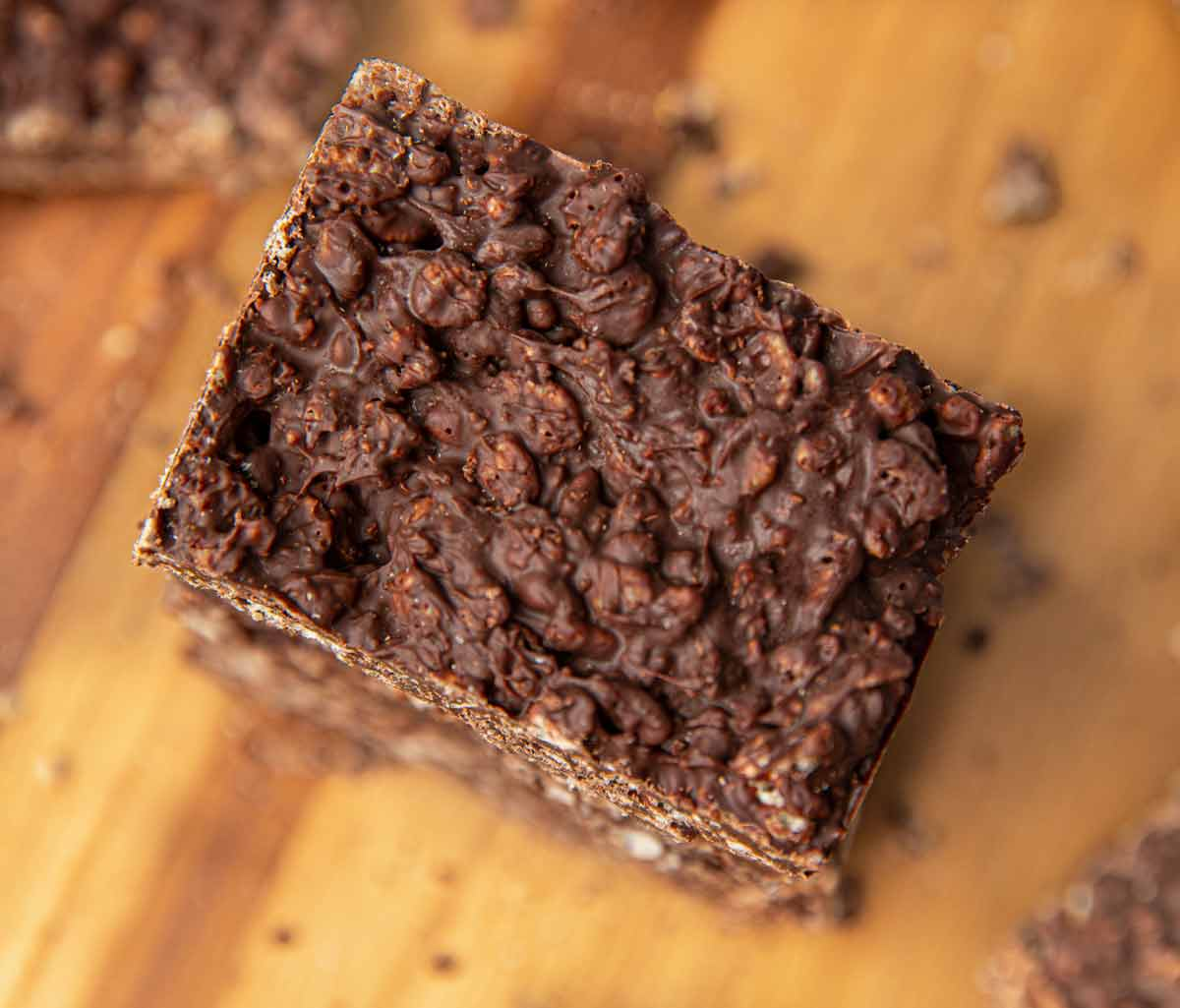 Piece of Chocolate Crunch Bar
