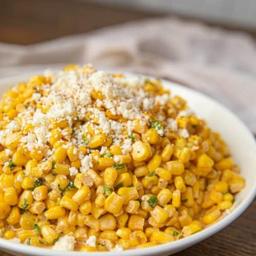Bowl of Mexican Corn Salad